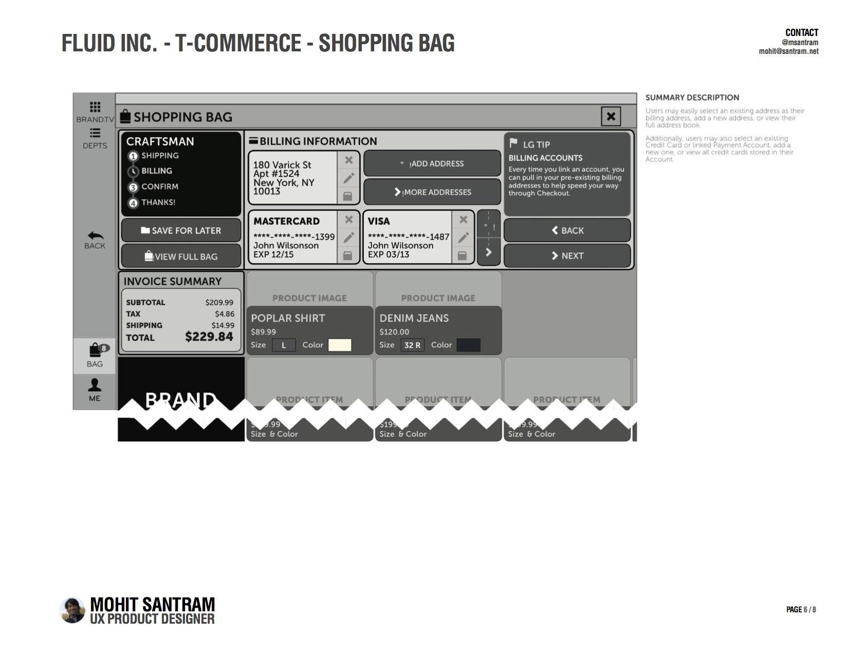 T-Commerce Shopping Bag