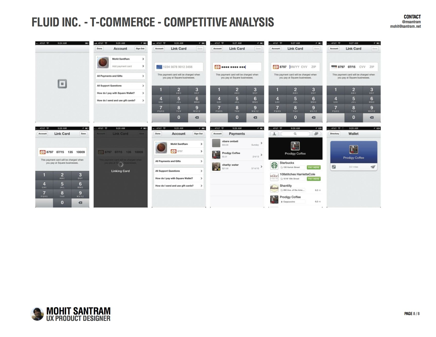 T-Commerce Mobile Competitive Analysis