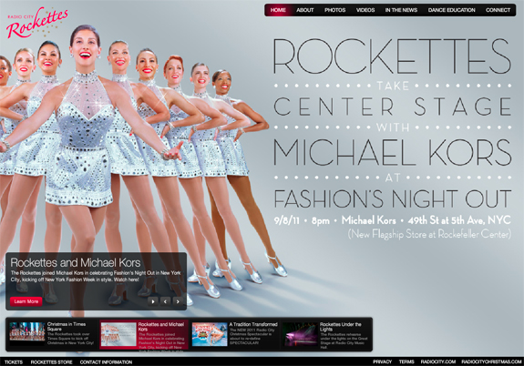The Radio City Rockettes Redesign with Omnigon