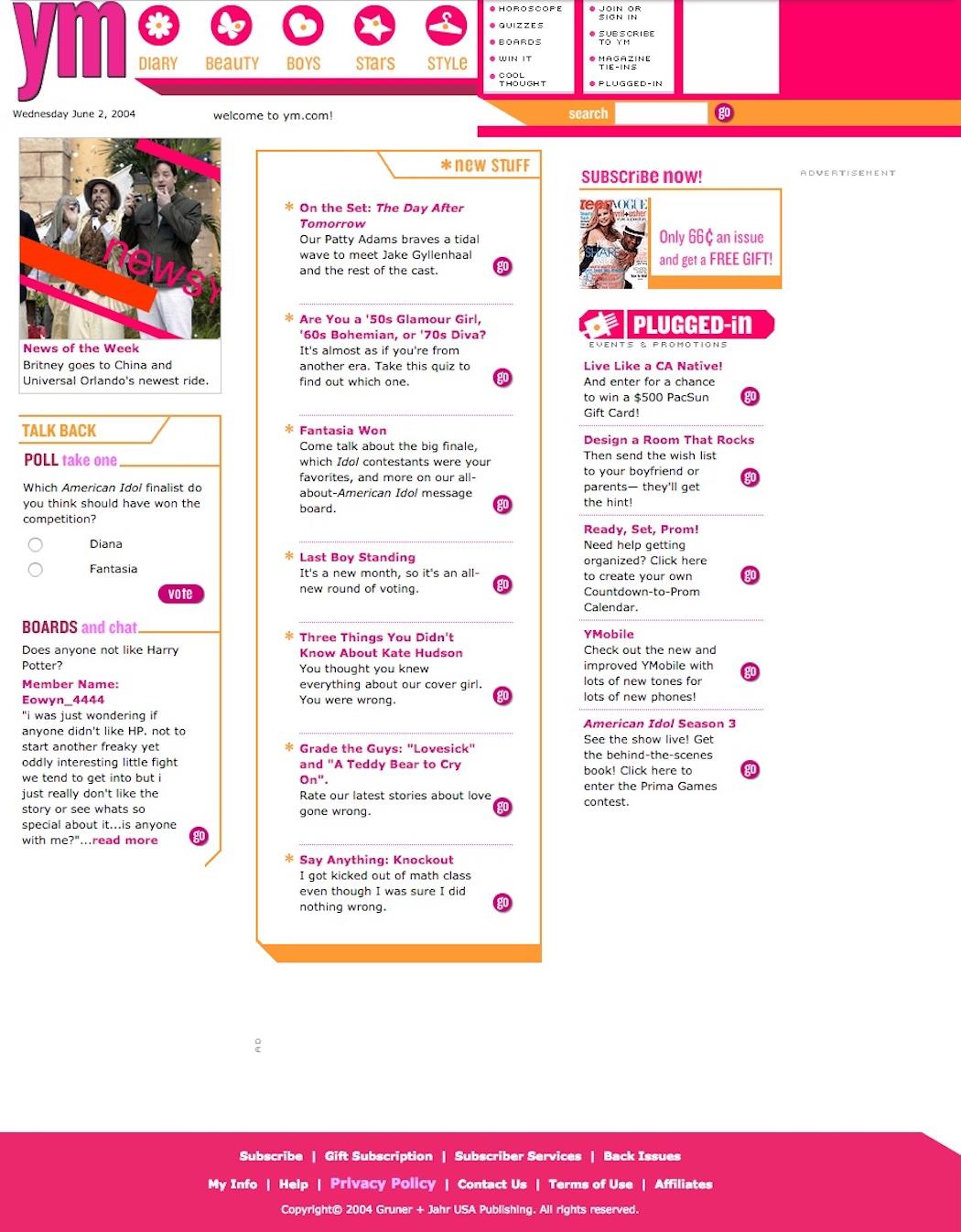 ym.com in 2004
